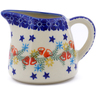 10 oz Stoneware Pitcher - Polmedia Polish Pottery H2249J