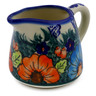 10 oz Stoneware Pitcher - Polmedia Polish Pottery H6446J