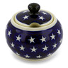 10 oz Stoneware Sugar Bowl - Polmedia Polish Pottery H0584A