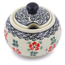 10 oz Stoneware Sugar Bowl - Polmedia Polish Pottery H1474J