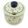10 oz Stoneware Sugar Bowl - Polmedia Polish Pottery H4409J