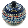 10 oz Stoneware Sugar Bowl - Polmedia Polish Pottery H5855I