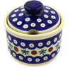 10 oz Stoneware Sugar Bowl - Polmedia Polish Pottery H5981D
