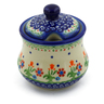 10 oz Stoneware Sugar Bowl - Polmedia Polish Pottery H6181K