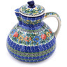 101 oz Stoneware Pitcher with Lid - Polmedia Polish Pottery H0482G