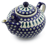 101 oz Stoneware Tea or Coffee Pot - Polmedia Polish Pottery H6052C