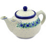 105 oz Stoneware Tea or Coffee Pot - Polmedia Polish Pottery H2132E