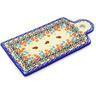 11-inch Stoneware Cutting Board - Polmedia Polish Pottery H2130G