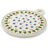 11-inch Stoneware Cutting Board - Polmedia Polish Pottery H4848I