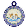 11-inch Stoneware Cutting Board - Polmedia Polish Pottery H4850I