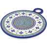 11-inch Stoneware Cutting Board - Polmedia Polish Pottery H6450C