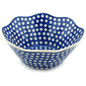 11-inch Stoneware Fluted Bowl - Polmedia Polish Pottery H9284H