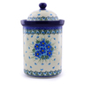11-inch Stoneware Jar with Lid - Polmedia Polish Pottery H0782I