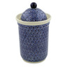 11-inch Stoneware Jar with Lid - Polmedia Polish Pottery H6029C