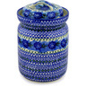 11-inch Stoneware Jar with Lid - Polmedia Polish Pottery H6901C