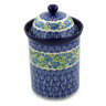 11-inch Stoneware Jar with Lid - Polmedia Polish Pottery H9320A