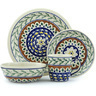 11-inch Stoneware Place Setting - Polmedia Polish Pottery H2489F