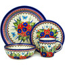 11-inch Stoneware Place Setting - Polmedia Polish Pottery H5378C