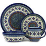 11-inch Stoneware Place Setting - Polmedia Polish Pottery H5382C