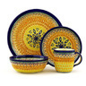 11-inch Stoneware Place Setting - Polmedia Polish Pottery H7626D