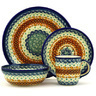 11-inch Stoneware Place Setting - Polmedia Polish Pottery H7627D
