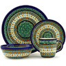 11-inch Stoneware Place Setting - Polmedia Polish Pottery H7628D