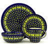 11-inch Stoneware Place Setting - Polmedia Polish Pottery H7633D
