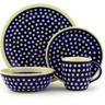 11-inch Stoneware Place Setting - Polmedia Polish Pottery H7635D