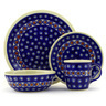 11-inch Stoneware Place Setting - Polmedia Polish Pottery H7653D