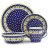 11-inch Stoneware Place Setting - Polmedia Polish Pottery H7655D
