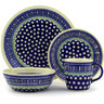 11-inch Stoneware Place Setting - Polmedia Polish Pottery H7658D