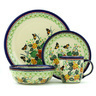 11-inch Stoneware Place Setting - Polmedia Polish Pottery H7753H