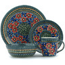 11-inch Stoneware Place Setting - Polmedia Polish Pottery H9355H