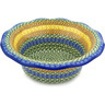 11-inch Stoneware Scalloped Bowl - Polmedia Polish Pottery H1834D