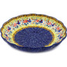 11-inch Stoneware Scalloped Bowl - Polmedia Polish Pottery H3074K