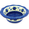 11-inch Stoneware Scalloped Bowl - Polmedia Polish Pottery H5978G