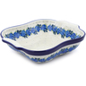 11-inch Stoneware Square Baker with Handles - Polmedia Polish Pottery H1180J