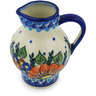 11 oz Stoneware Pitcher - Polmedia Polish Pottery H0713H