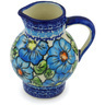11 oz Stoneware Pitcher - Polmedia Polish Pottery H0740H