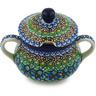 11 oz Stoneware Sugar Bowl - Polmedia Polish Pottery H0665G