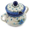 11 oz Stoneware Sugar Bowl - Polmedia Polish Pottery H0666I
