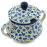 11 oz Stoneware Sugar Bowl - Polmedia Polish Pottery H1429B