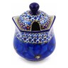 11 oz Stoneware Sugar Bowl - Polmedia Polish Pottery H2965C