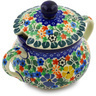 11 oz Stoneware Sugar Bowl - Polmedia Polish Pottery H3331E
