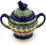 11 oz Stoneware Sugar Bowl - Polmedia Polish Pottery H3387D