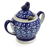 11 oz Stoneware Sugar Bowl - Polmedia Polish Pottery H4431J
