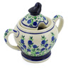 11 oz Stoneware Sugar Bowl - Polmedia Polish Pottery H4472J