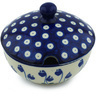 11 oz Stoneware Sugar Bowl - Polmedia Polish Pottery H4694H