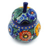 11 oz Stoneware Sugar Bowl - Polmedia Polish Pottery H5201J