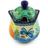 11 oz Stoneware Sugar Bowl - Polmedia Polish Pottery H5845G